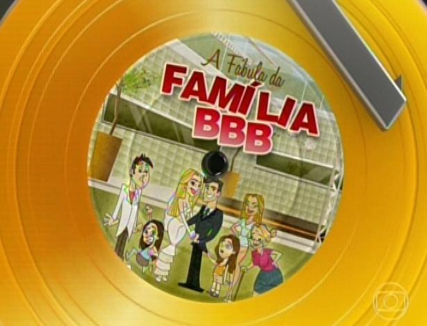 """19.mar.2013 - Edição relembra os melhores momentos de Fernanda e André no """"BBB13"""""""
