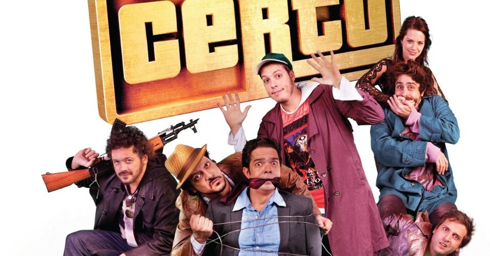 Cartaz oficial em português da comédia