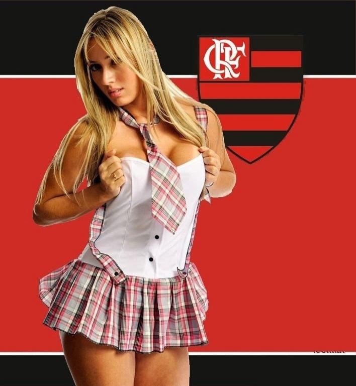 Cris Lopes, torcedora do Flamengo, se inscreveu para o Belas da Torcida 2013