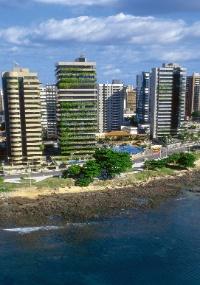 Orla de Fortaleza, capital do Estado do Ceará