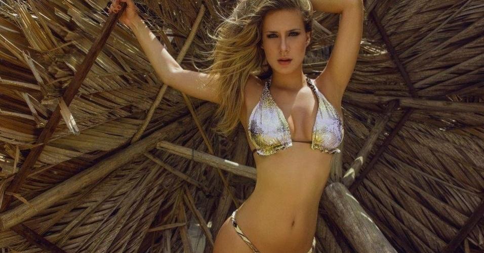 Laura Alves quer representar o Remo no Belas da Torcida 2013