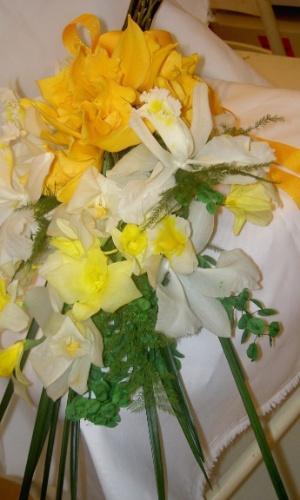 Buquê de orquídeas, cymbidiums e dendrobiums preservadas com folhagem também preservada; por R$950,00, na Flor de Cór (www.flordecor.com.br). Preço pesquisado em março de 2013 e sujeito a alterações
