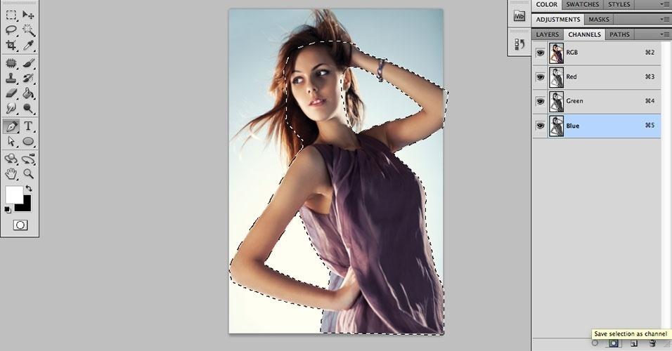 Photoshop: saiba como recortar imagem e alterar o fundo da foto
