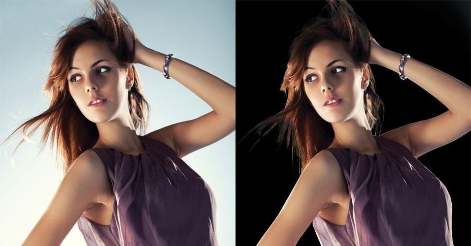 Photoshop: saiba como recortar imagem e alterar o fundo da foto abre do álbum