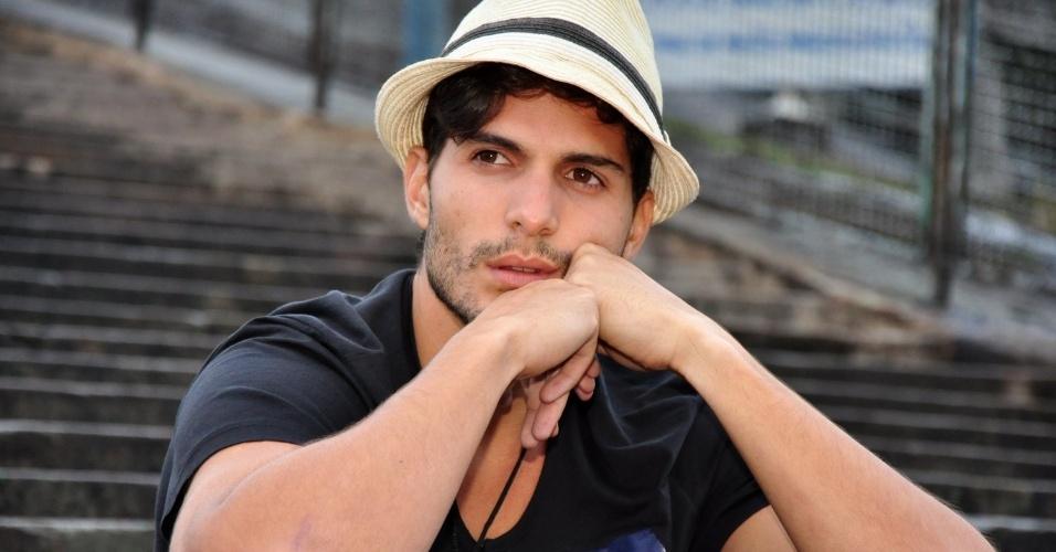 22.mar.2013 - Ex-BBB André Martinelli fez ensaio fotográfico