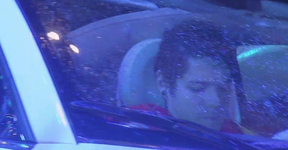 22.mar.2013 - Nasser se concentra enquanto carro gira