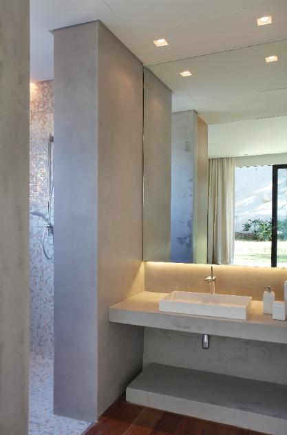 Pin Images Pastilhas Vidro Banheiros Decorados Frutas on Pinterest -> Banheiro Decorado Com Cimento Queimado