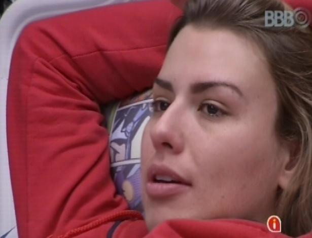 Fernanda diz para Andressa que escolheria disputar a final com a paranaense