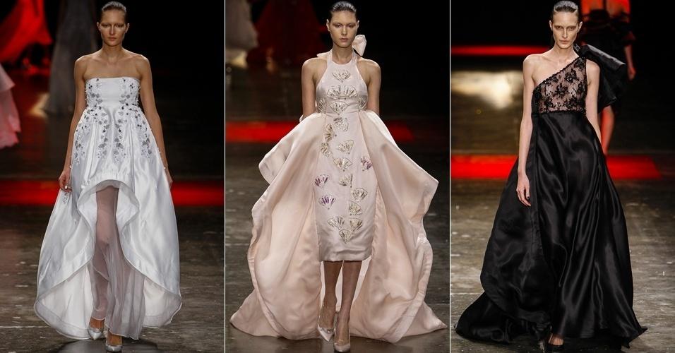 Modelos apresentam looks de R. Rosner para o Verão 2014 no SPFW (22/03/2013)