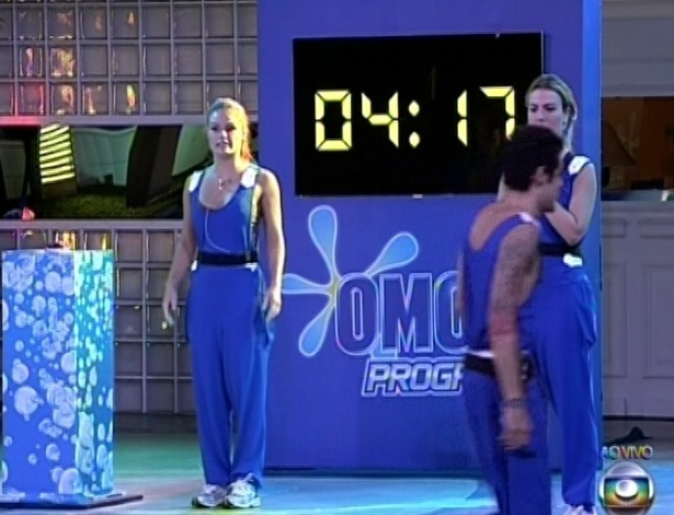 Nasser é primeiro a participar da segunda etapa da prova de liderança e termina a prova em 4 minutos e 17 segundos