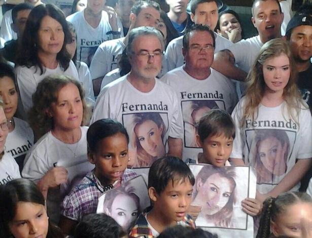 Família de Fernanda do