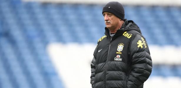 Felipão chamou apenas jogadores que atuam no Brasil para o duelo contra a seleção do Chile