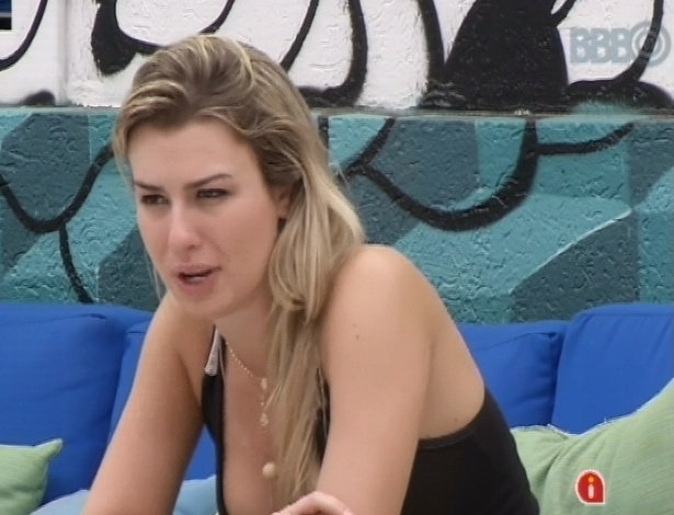 24.mar.2013 - Fernanda diz que conseguiu ser uma sister de verdade