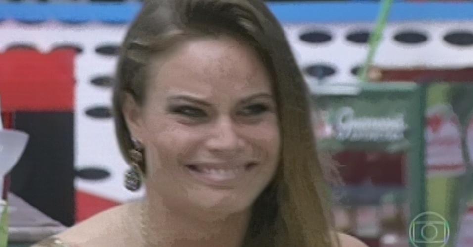 24.mar.2013 - Natália é a última eliminada do
