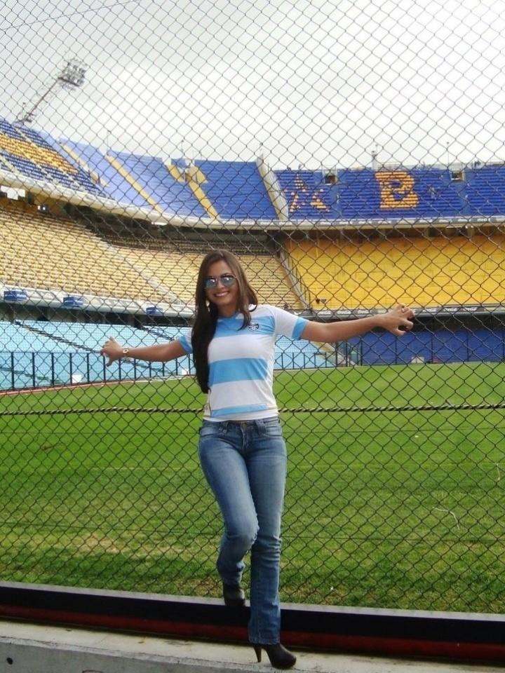 Charlene Macedo se inscreveu para representar o Grêmio no Belas da Torcida 2013
