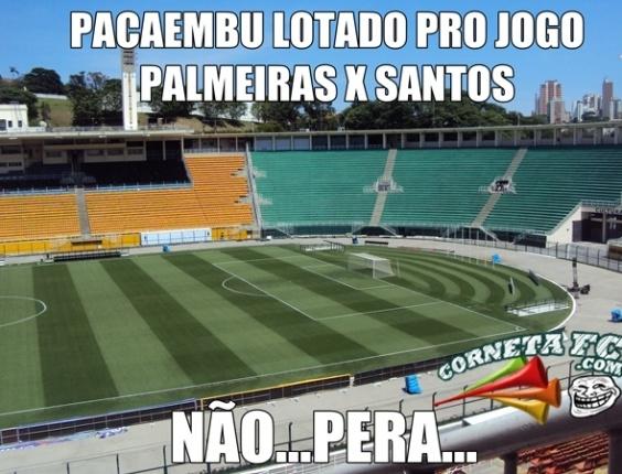 Corneta FC: Pacaembu lotado para o clássico paulista