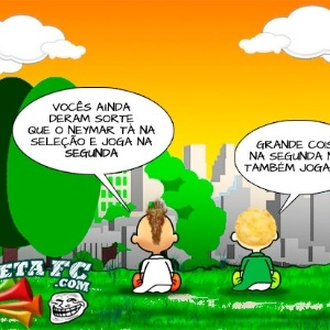 Corneta FC: Santistas tentam justificar empate