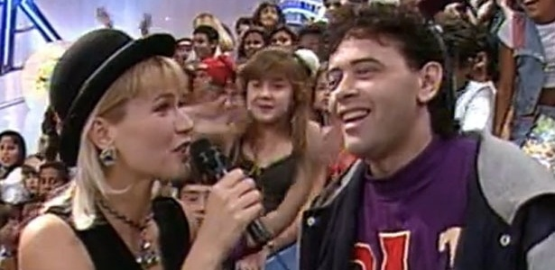 DJ Marlboro participa do programa da Xuxa nos anos 90