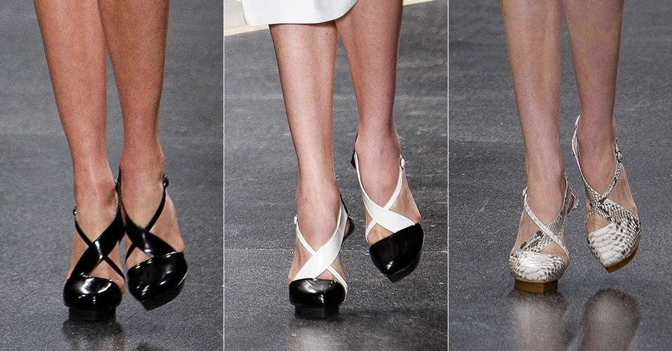 Sapatos SPFW Verão 2014 Alexandre Herchcovitch