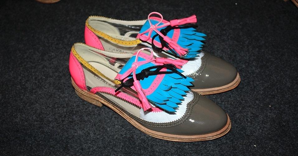 Sapatos SPFW Verão 2014 Cavalera