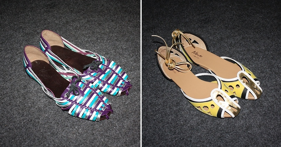 Sapatos SPFW Verão 2014 Neon - Mr. Cat