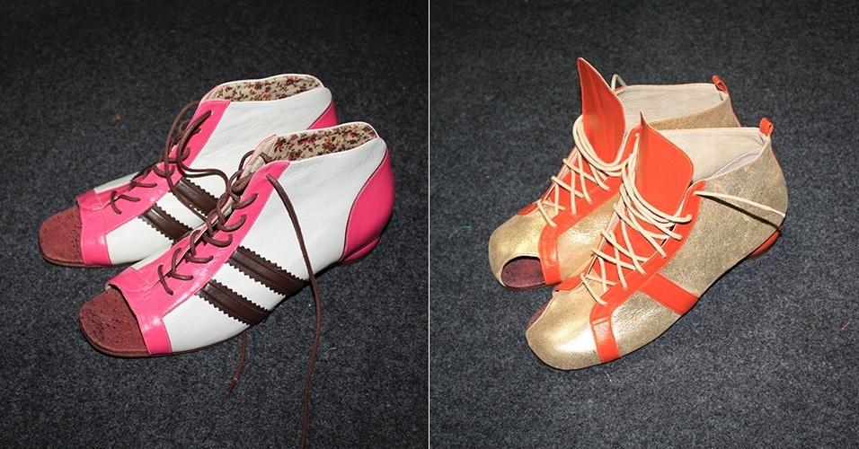 Sapatos SPFW Verão 2014 Ronaldo Fraga - Virginia Barros