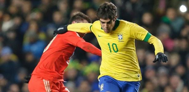 Kaká disputou amistosos em março, mas não foi para a Copa das Confederações