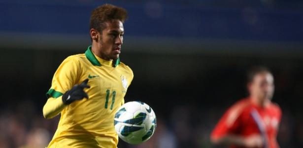 Neymar teve uma atuação apagada contra a Rússia