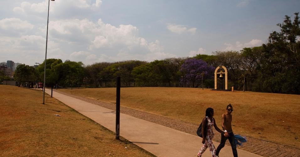 2.set.2012 - Parque da Juventude, no bairro do Carandiru, em São Paulo