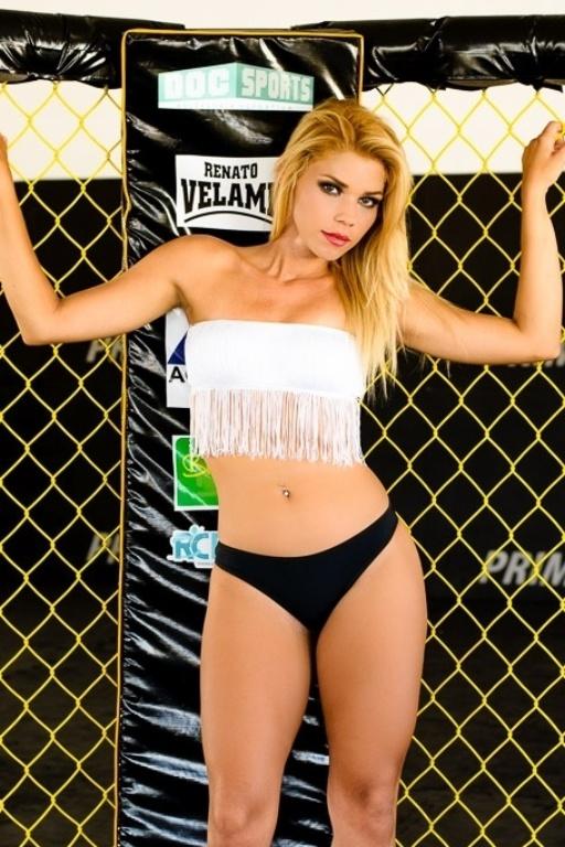 Mayara Marla é candidadata do Vitória ao Belas da Torcida 2013