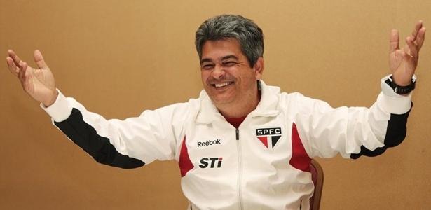 Ney Franco, técnico do São Paulo, superou marca de Telê Santana