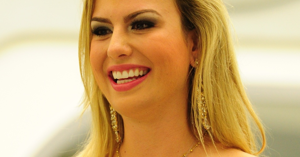 26.mar.2013 - Fernanda foi a grande vencedora do BBB13