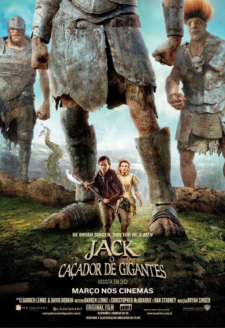 """Cartaz oficial em português de """"Jack: O Caçador de Gigantes"""" - pôster nacional"""