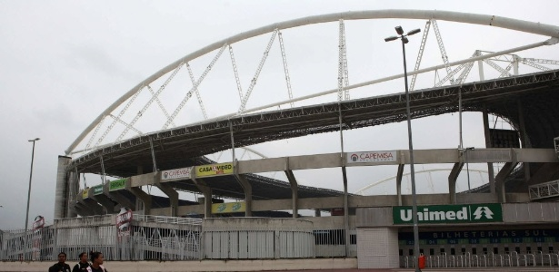 Engenhão foi interditado pela prefeitura do Rio de Janeiro por problemas estruturais