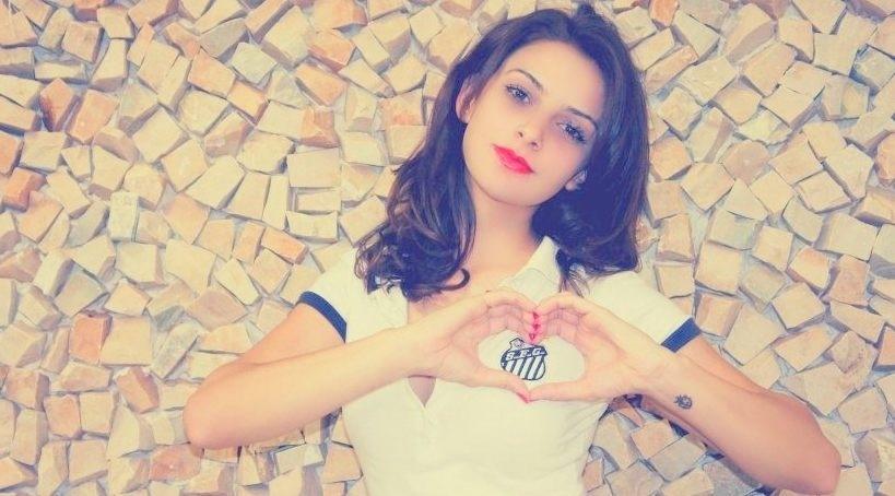 Maressa Aguiar vai representar o Santos no Belas da Torcida 2013