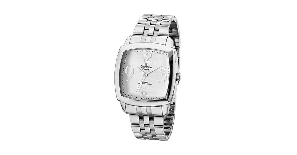 Relógio feminino cristais; R$ 160, na Champion (Tel.: 11 3149-2590). Preço pesquisado em março de 2013 e sujeito a alterações