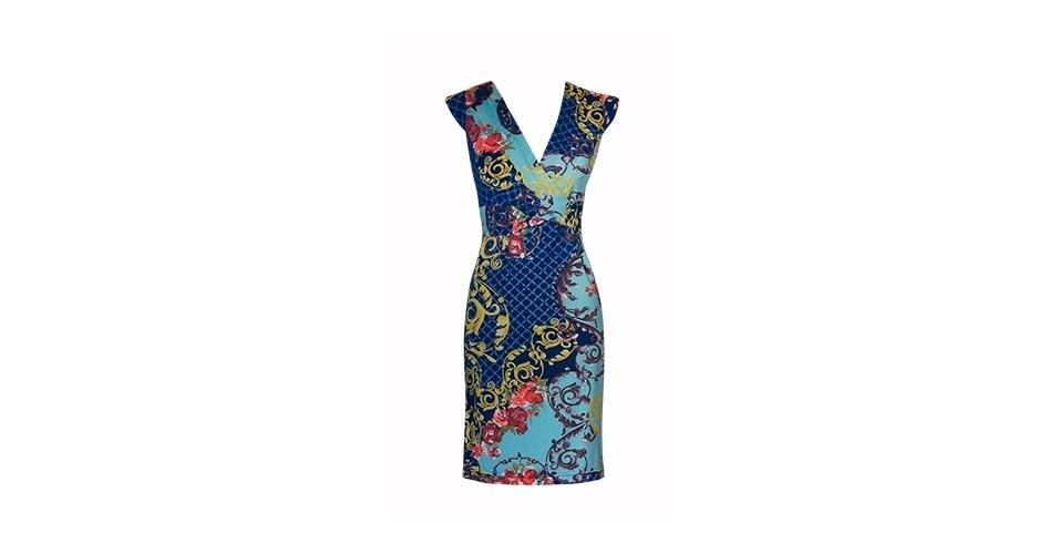 Vestido com estampa lenço em viscocrepe; R$ 340, na Blow-up (Tel.: 11 3081-2447). Preço pesquisado em março de 2013 e sujeito a alterações