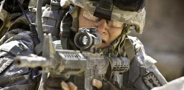 "Cena de ""Guerra ao Terror"" (""The Hurt Locker""), de Kathryn Bigelow, que focaliza a dura rotina das tropas norte-americanas no Iraque"