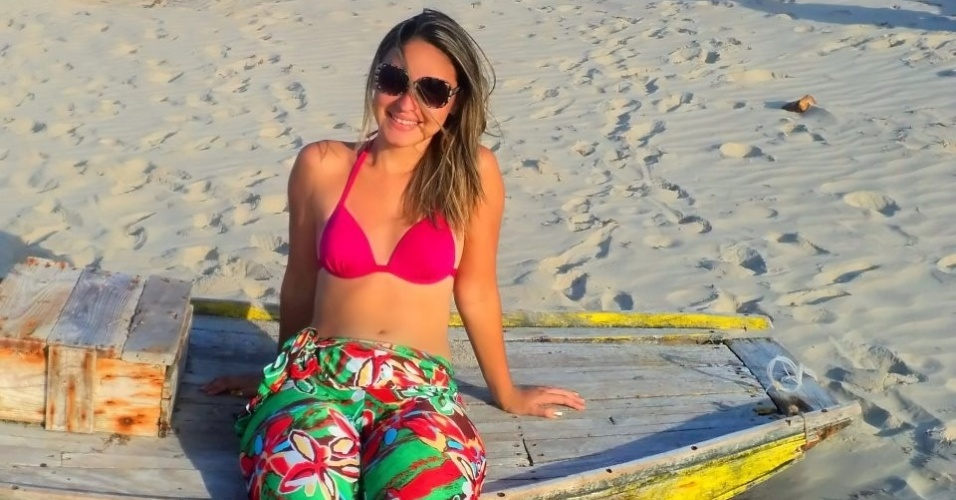 Flaviana Paiva, torcedora do Ceará, está inscrita para o Belas da Torcida 2013