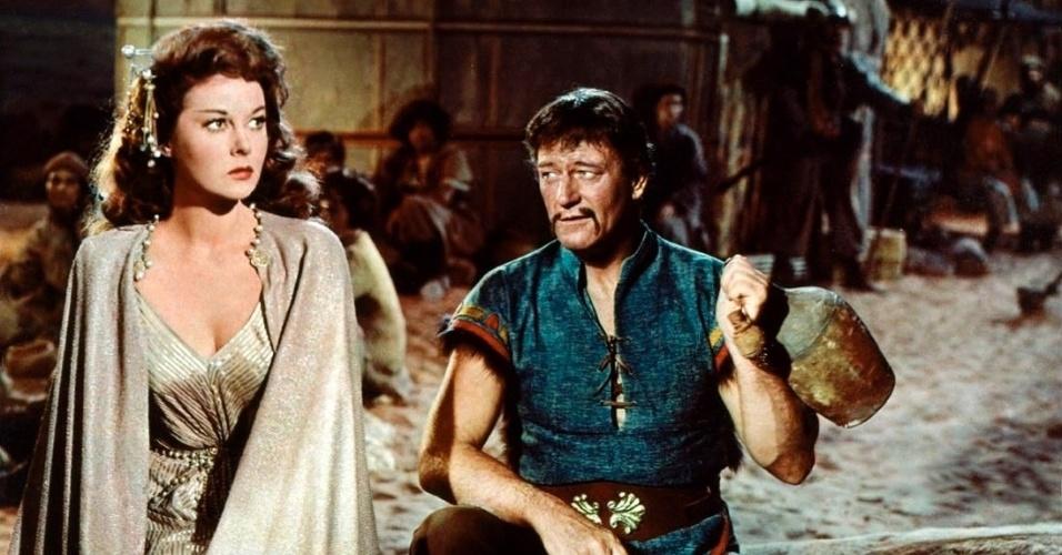 O filme com John Wayne trouxe, com o passar do tempo, uma das maiores polêmicas da história do cinema