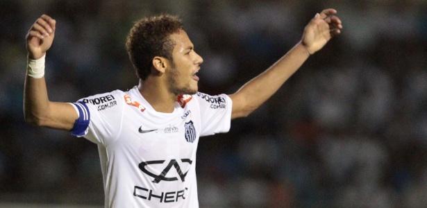 Neymar quebrou jejum de seis jogos sem balançar as redes em 2013