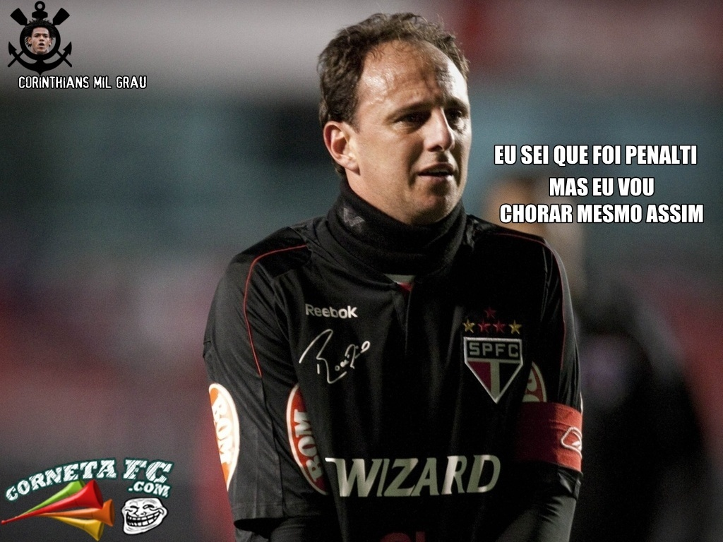 Corneta FC: Rogério Ceni confessa que fez pênalti