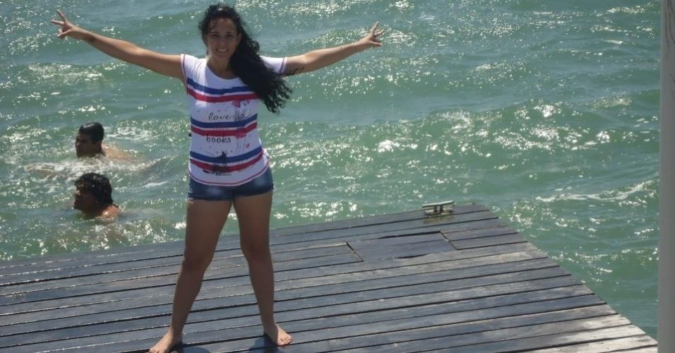 Jamilly de Freitas quer representar o Fortaleza no Belas da Torcida 2013