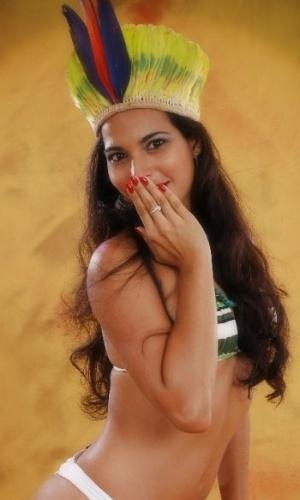 Karina Chaves vai representar o Remo no Belas da Torcida 2013