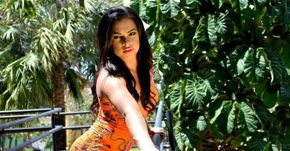 Téssia Almeida vai representar o Fortaleza no Belas da Torcida 2013