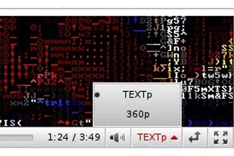 2010 - Super bacana essa ideia do YouTube: vídeos exibidos em formato de texto. Dãr! O (falso) formato TEXTp seria resultado de meses de trabalho dos engenheiros, que tiveram de reduzir vídeos enormes a elementos básicos (textos). O anúncio engraçadinho dizia, além de tornar o conteúdo mais leve, era uma forma de promover a literatura