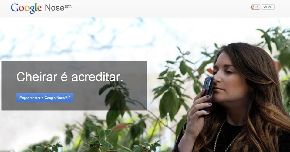 Dia da mentira google 1º de abril 2013