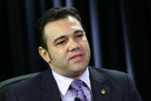 O deputado Marco Feliciano em entrevista ao Poder e Política