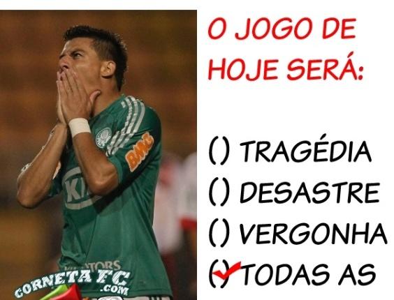 Corneta FC: Já deu seu palpite no Bolão do Palmeiras?