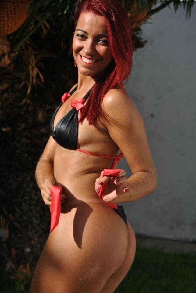 Daiane Brito quer representar o Vitória no Belas da Torcida 2013